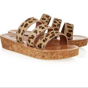 K.Jacques St.Tropez Leopard platform sandal